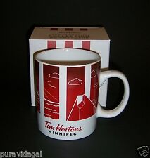 TIM HORTONS Coffee MUG ~ 2016 Traveller's Collection WINNIPEG ~ Series 1 ~ NIB