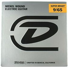 3-PK Dunlop Super Bright Nickel Wound LIGHT 8-St. Electric Guitar Strings 9-65