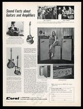 1967 Danelectro Coral Electric Sitar Vincent Bell The Turtles Cyrkle photo ad