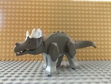 LEGO Triceratops Dino Dinosaur Animal Mini Figure Complete Very Rare 2000 Set