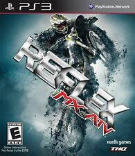 MX vs. ATV Reflex PS3 NEW! MOTORCROSS, FOUR WHEELER, DIRT, MUD, BIKES, RACE FUN