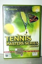 TENNIS MASTERS SERIES 2003 GIOCO USATO OTTIMO  XBOX EDIZIONE ITALIANA GD1 35881