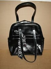 Thirty-one 31 Leather Medium Purse with Scarf Retired Black New/Unused