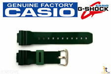 CASIO DW-6900CC-3 G-Shock Original Green Glossy Rubber Watch Band Strap