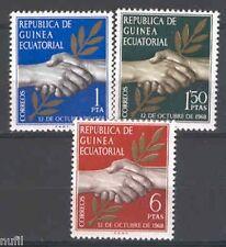 Equatorial GUINEA ECUATORIAL Edifil # 1/3 ** MNH Set