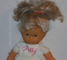 "12"" Corolle Blonde Poupee Girl Polly? Doll Blue Sleep Eyes Vinyl Cloth France"