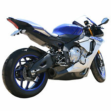 15-16 Yamaha R1 Models Slip On Exhaust w/ Standard Carbon Fiber Trim