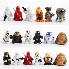 18Pcs Set Mini Star Wars R2 D2 Stormtrooper Action Figures Movie Theme Toys Gift