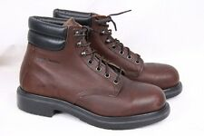 RED WING 2245 Brown Leather Steel Toe 6 inch Ankle Work Boots USA Men 6.5 EEE