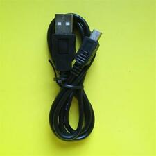 New 1m/100cm Mini USB 2.0 Cable Sync/Data/Charge Lead Male A/Mini B Black Metre