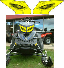 SKI DOO BRP REV XP  XR Z SUMMIT RENEGADE FREERIDE HEADLIGHT  DECAL STICKER a