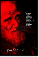 GEORGE BERNARD SHAW ART PRINT PHOTO POSTER GIFT QUOTE