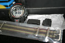MEN'S CASIO G-SHOCK G-2900 E-DATA MEMORY  WRISTWATCH WITH NEW MARATAC ZULU BAND