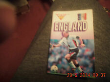 World Cup '98 Micro Fax England Book by Funfax