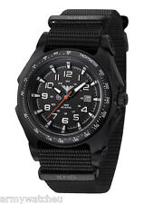KHS Tactical Watches German Police Analog C1-Light Date Army Band KHS.SEAB.NB