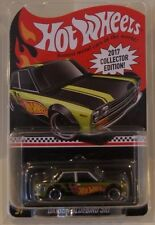 Datsun Bluebird 510 Hot Wheels Kmart 2017 Mail In #2 Real Riders Redline