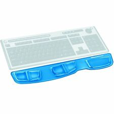 Fellowes Gel Keyboard Palm Support Wrist Rest  With Microban Protection, Blue