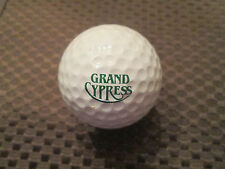 LOGO GOLF BALL-GRAND CYPRESS GOLF CLUB.FLORIDA.VINTAGE NICKLAUS GOLDEN BEAR BALL
