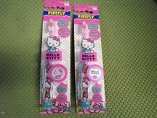 2 HELLO KITTY Toothbrush (Soft) for Kids w/ tooth brush cap, suction base Age 4+