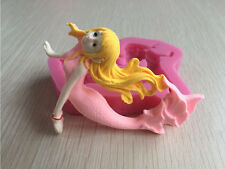 3D Mermaid Silicone Mold for cakes and cupcakes