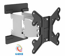"G4CE Swivel Tilt Wall Mount TV Bracket 24 28 30 32 40 42"" LED LCD Curved Plasma"