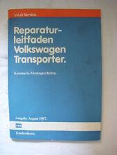 VW Bus T3+syncro Karosserie+Schaltplan+Kabelbaum Reparaturhandbuch Reparaturbuch