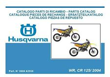 Husqvarna Parts Manual Book 2004 WR 125 & CR 125