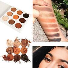 9 couleur Ombre à paupières Maquillage cosmétique matte Fard à paupières Palette