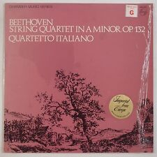 BEETHOVEN: String Quartet in A Minor PHILIPS Dutch QUARTETTO ITALIANO NM LP