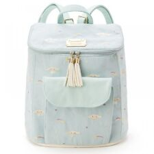 Cinnamoroll Backpack Blue Rainbow Embroidery  Sanrio Japan