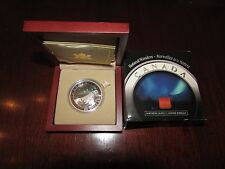 Canada 2004 $20 Aurora Borealis (Northern Lights) Hologram Silver Coin
