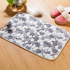 Soft Floor Home Rug Bath Bathroom Carpet Bedroom Kitchen Shower Mat Non-slip Pad