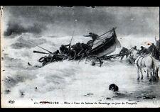 LE HAVRE (76) BATEAU de SAUVETAGE , cliché illustré début 1900