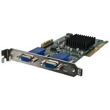 Matrox G450 16MB DDR AGP Dual VGA Video Card