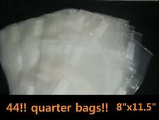 "8""x11.5""Quarter Bags 44 for use in all universal FOODSAVER &other Vacuum Sealers"