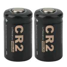 2 Pieces CR2 3.0V 1000mAh Protected Rechargeable Battery + Case for Soshine GL
