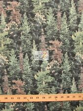 LAST NIGHT TREES BY STEPHEN LYMAN FOR SOUTH SEA IMPORTS COTTON FABRIC FH-14593