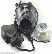 Mestel Safety SGE400 Gas Mask 40mm NATO w/DrinkingSystem & NBC Filter Exp12/2021