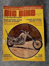 VINTAGE & ORIGINAL JANUARY 1971 BIG BIKE MOTORCYCLE MAGAZINE
