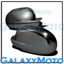 07-13 Chevy Silverado+Avalanche Black Chrome Full Mirror Cover 1 piece Design