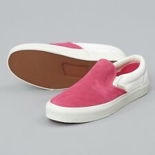 Vans Classic Slip On Women's UK Size 4 Eur 36.5 shoes trainers, white pink