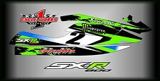 Kawasaki 800 SXR  stand up jet ski   SEMI CUSTOM GRAPHICS KIT