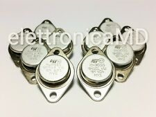 n.5 2N3055 + n.5 MJ2955 100V 15A 115W NPN PNP TO3 transistor complementare ST