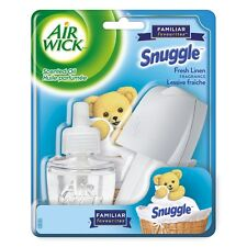 AIR WICK Snuggle Fresh Linen Scented Oil 1 warmer + 1 Refill