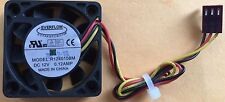 EVERFLOW R124010BM 12V 0.12A Ball Bearing 40mm x 10mm Cooling Fan 3 pin wire