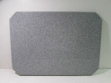 "ACRYLIC IN/OUTDOOR RESTAURANT TABLE TOP 28"" X 20"" X 1"" GREY GRANITE ***NNB***"