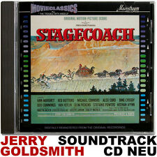 Stagecoach + The Trouble with Angels - Jerry Goldsmith - CD NEU