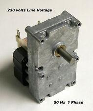 230 VOLT ENVIRO FIRE PELLET STOVE AUGER MOTOR - 1 RPM - EF-001  NEW STOCK