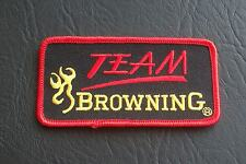 Clay pigeon, TEAM Browning, tir, chasse, pêche badge patch