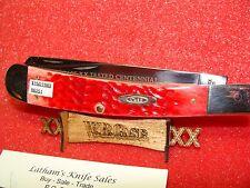 CASE XX USA 1889-1989 CENTENNIAL RED BOVINE BONE--BANNANA TRAPPER--R6251 SS